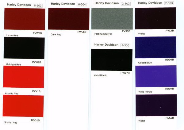 Harley Davidson Black Cherry Pearl Touch Up Paint