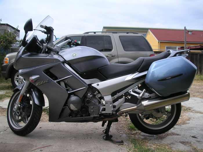 Yamaha Fjr Color