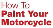 How to paint a motorcycle